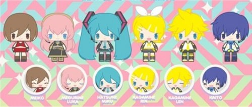Vocaloid - Hatsune Miku Rubber Strap Collection - Single BLIND BOX