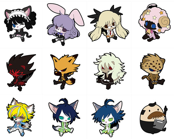 Show By Rock - Petanko Trading Rubber Strap - Single BLIND BOX