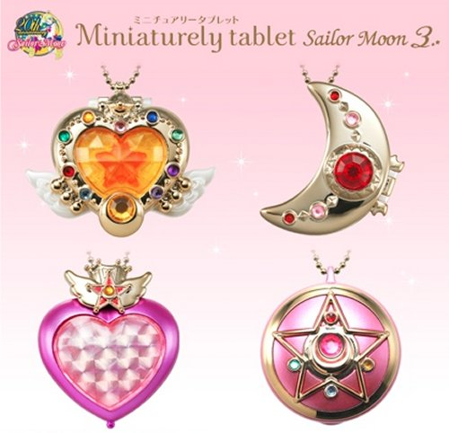 Sailor Moon - 20th Anniversary Miniature Tablet - Single BLIND BOX
