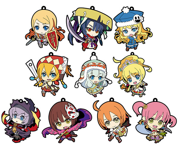 Etrian Mystery Dungeon - Trading Rubber Strap - Single BLIND BOX