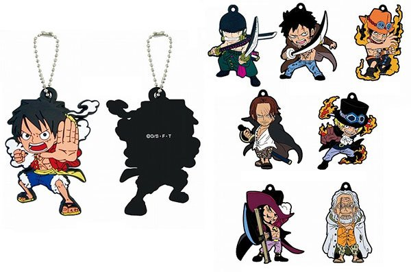 One Piece - Gi no Otokotachi Rubber Strap - Single BLIND Box