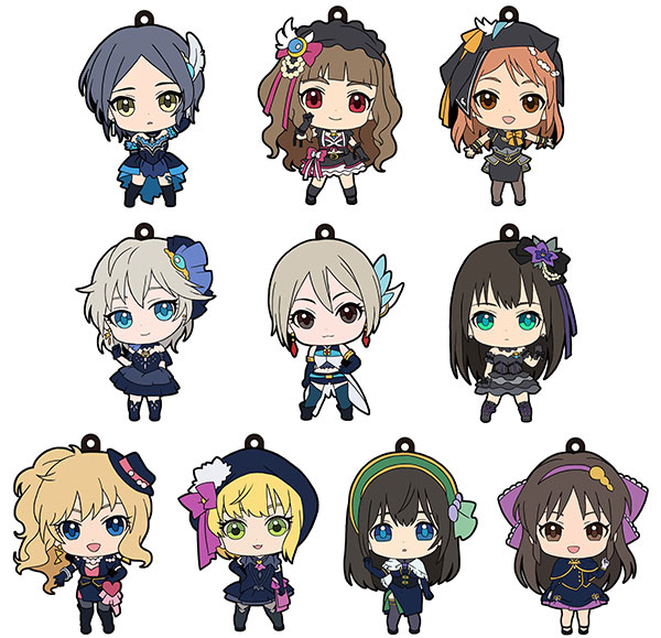 Idol Master Cinderella Girls - Trading Rubber Strap - Single BLIND BOX