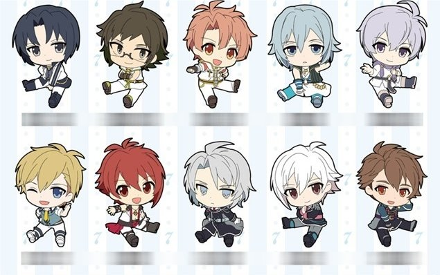 Idolish Seven - Rubber Strap Collection - Single BLIND BOX