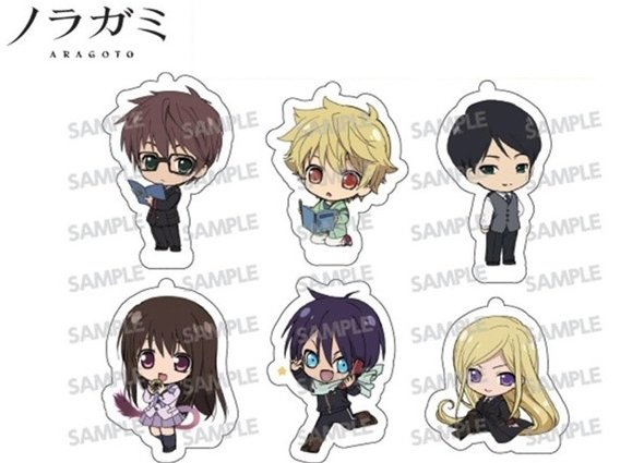Noragami Aragoto - Acrylic Key Chain Collection - Single BLIND BOX