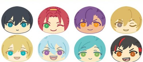 Ensemble Stars - Omanjuu Niginigi Mascot Part 3 - Single BLIND BOX