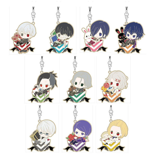 Tokyo Ghoul - Rubber Strap Charapre Version - Single BLIND BOX