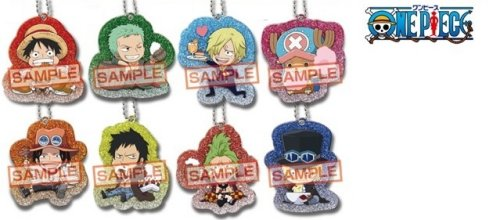 One Piece Character Keychains - Single BLIND BOX