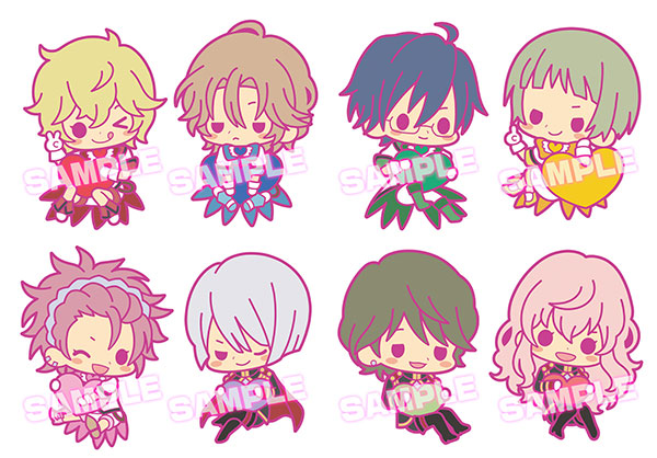 Cute High Earth Defense Club Love - es Series nino Rubber Strap Collection - Single BLIND BOX