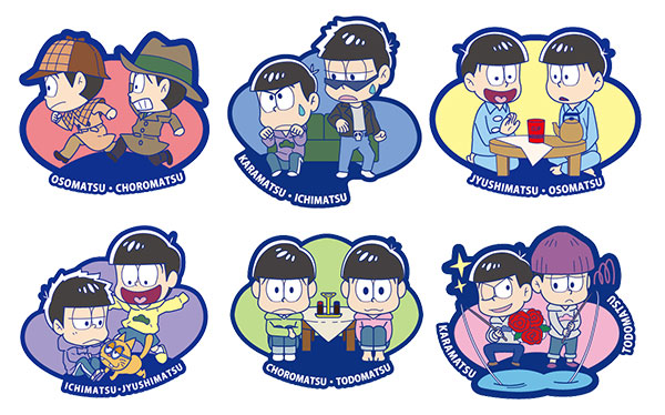 Osomatsu San - Rubber Mascot Buddy Colle - Single BLIND BOX