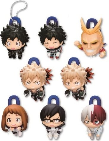 My Hero Academia - Deformed Character Clip Single BLIND BOX