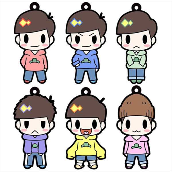 Osomatsu San - D4 Rubber Strap Single BLIND BOX