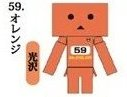 Yotsuba - Mr.Color Danboard ver.2 Capsule Orange Danboard