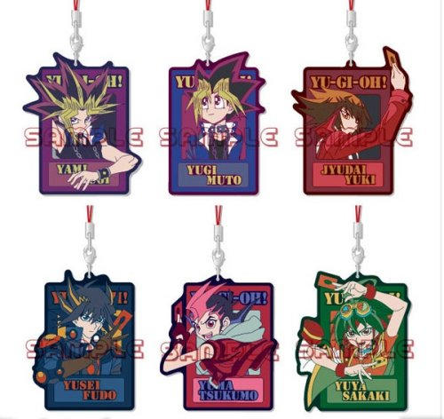 Yu-gi-oh - Diecut Rubber Straps Vol.1 Single BLIND BOX