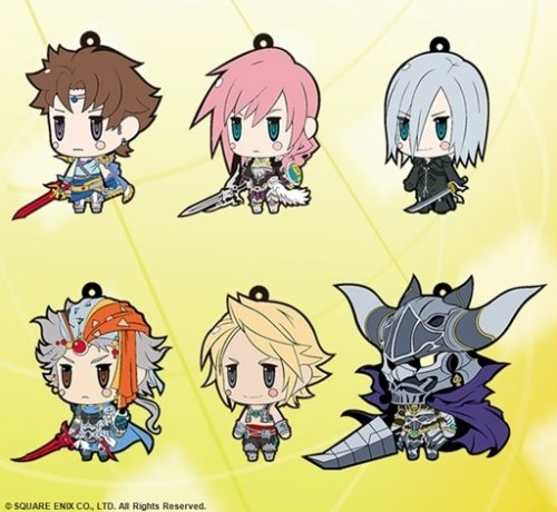 Final Fantasy - Trading Rubber Straps Volume 7 - Single BLIND BOX