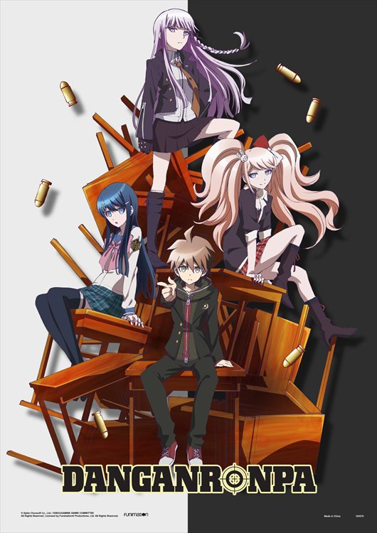 Dangan Ronpa The Animation - Desk Despair Wall Scroll Re-Release