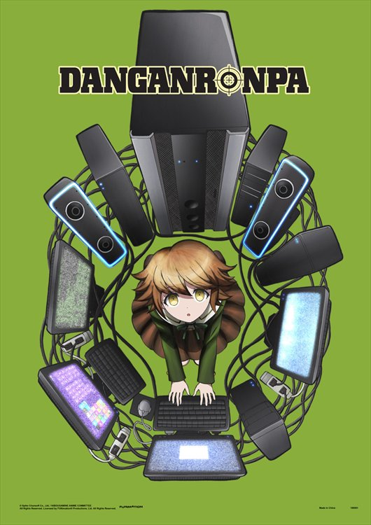 Danganronpa The Animation - Ultimate Programmer Chihiro Fujisaki Wall Scroll