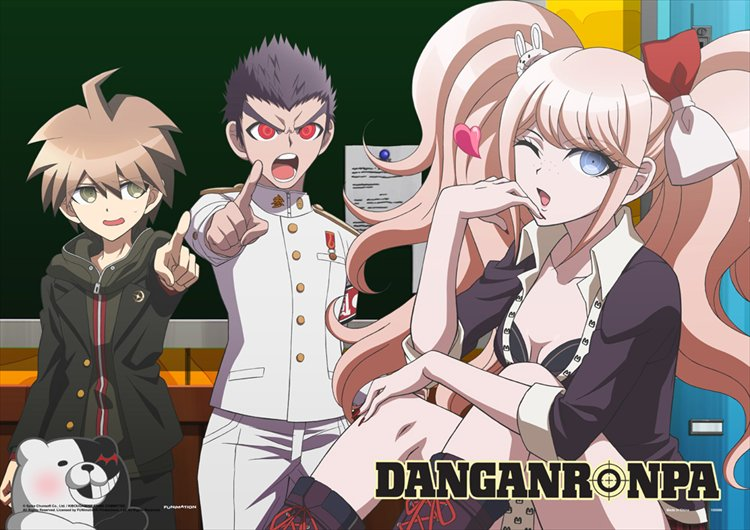 Dangan Ronpa The Animation - Classroom Flirt Wall Scroll