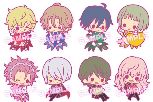 Cute High Earth Defense Club Love - Binan Koukou Rubber Straps Single BLIND BOX