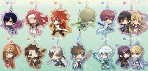 Tales of Series - Pearl Acrylic Keychains Single BLIND BOX