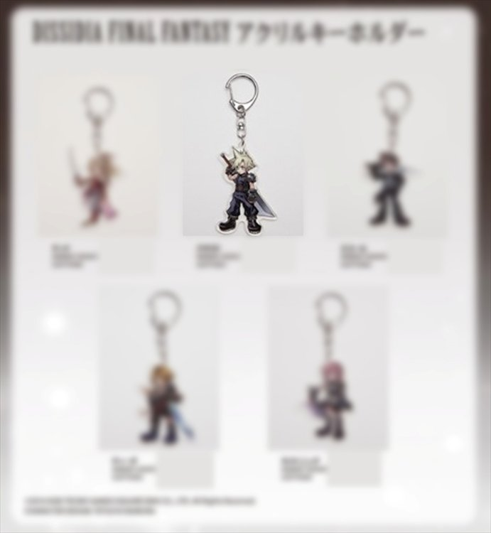Final Fantasy Dissidia - Acrylic Keychain Cloud