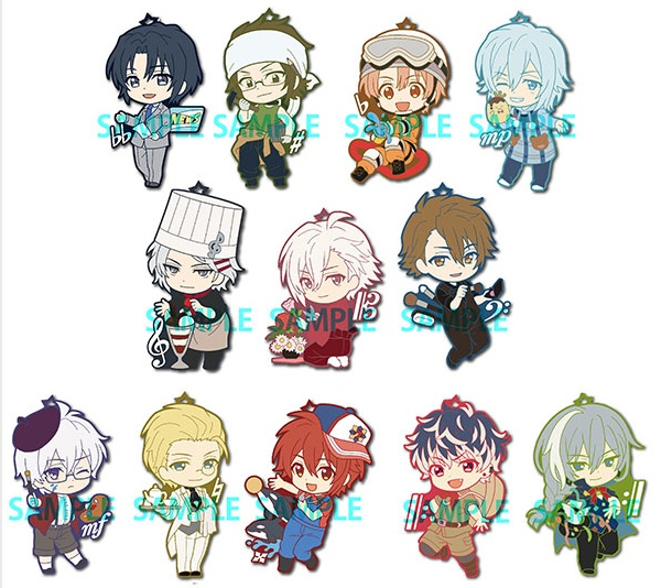 Idolish 7 - Toyswork collection Vol. 2 Rubber strap - One BLIND Box