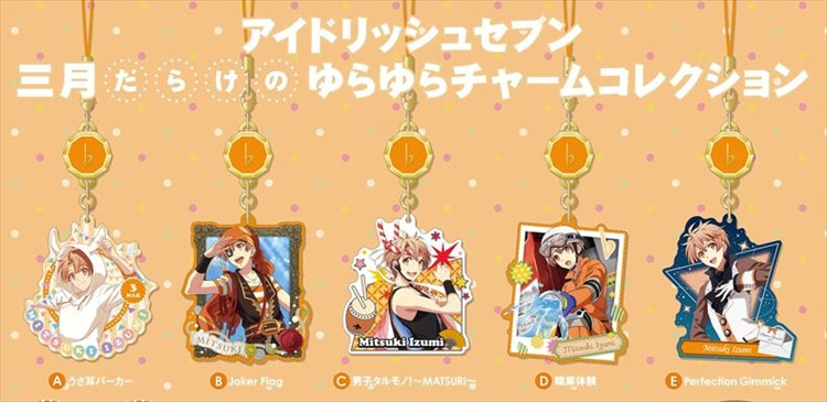 Idolish 7 - Mitsuki Yura Yura Charm Collection Set of 5