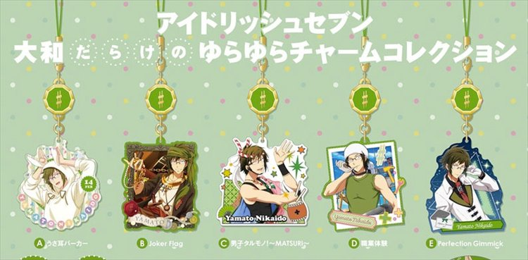 Idolish 7 - Yamato Yura Yura Charm Collection Set of 5
