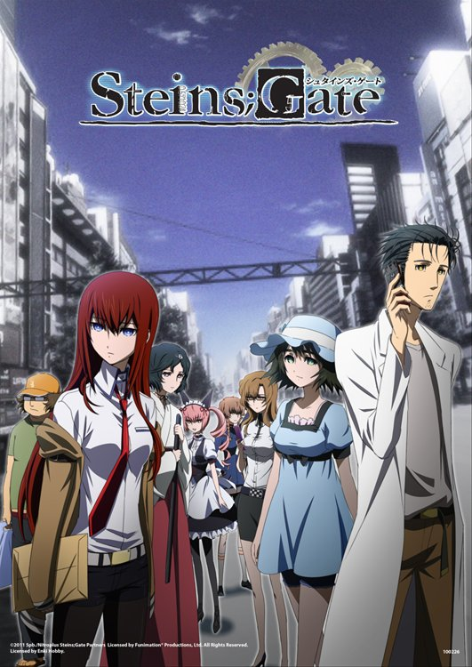 Steins Gate - Group Clear Poster