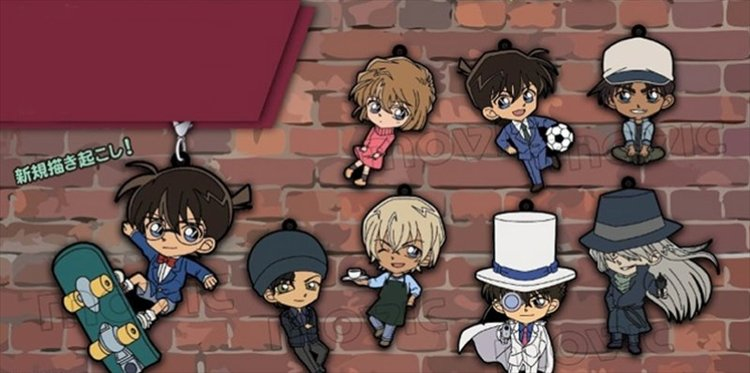 Detective Conan - Rubber Strap Collection Single BLIND BOX
