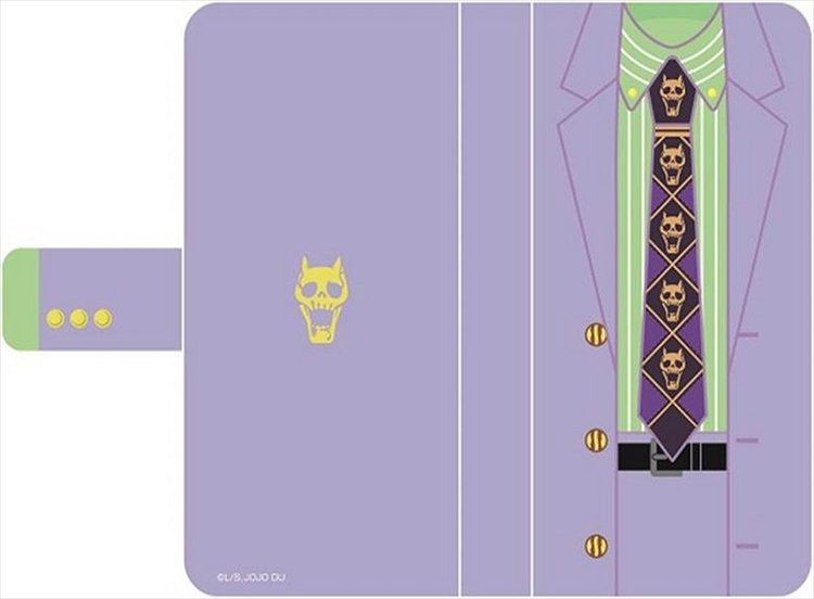 JoJos Bizarre Adventure Diamonds are Unbreakable - Pocketbook Type Smartphone CASE Ver. Yoshikage Kira