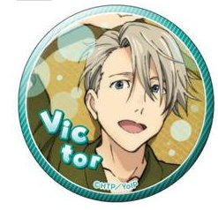 Yuri on Ice - Victor Nikiforov B Set Badge