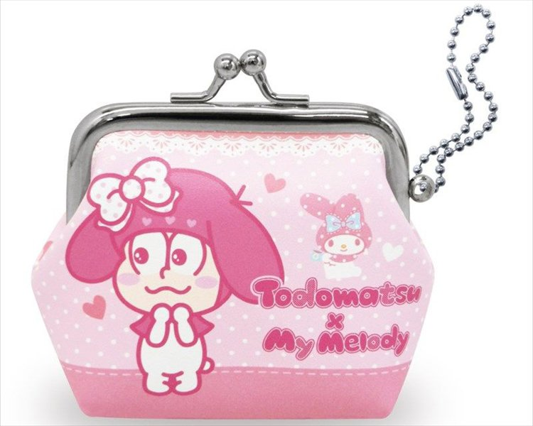 Osomatsu San x Sanrio Characters - Todomatsu x My Melody Large Coin Pouch
