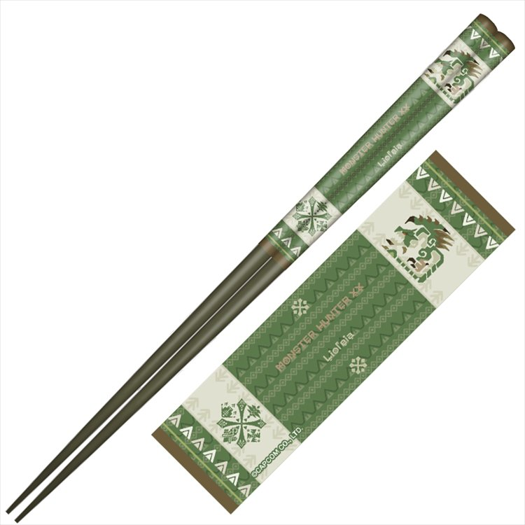 Monster Hunter XX - Japanese pattern chopsticks Rathian