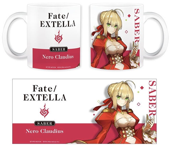 Fate/EXTELLA - Mug: Nero Claudius