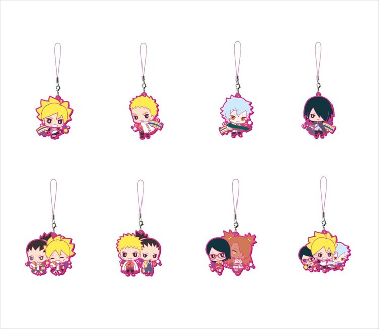 Boruto - Rubber Strap Set of 8