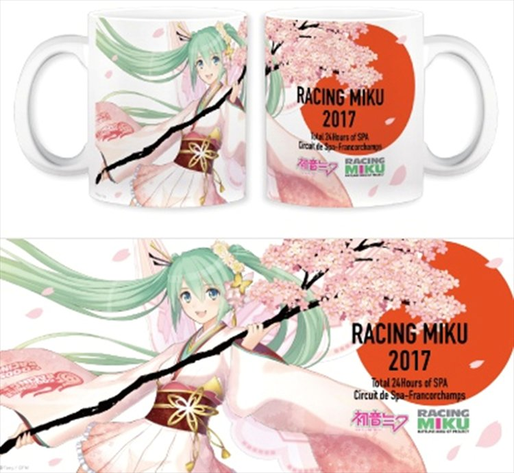 Vocaloid - Miku Racing Miku Mug