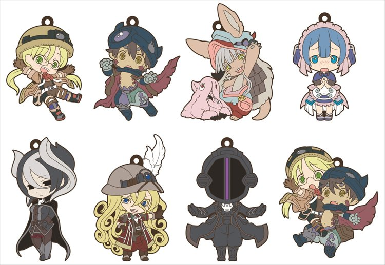 Made in Abyss - Niitengomu Rubber Strap SINGLE BLIND BOX