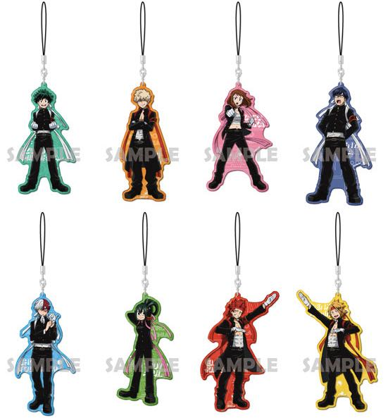 My Hero Academia - Visual Color Acrylic Straps Single BLIND BOX