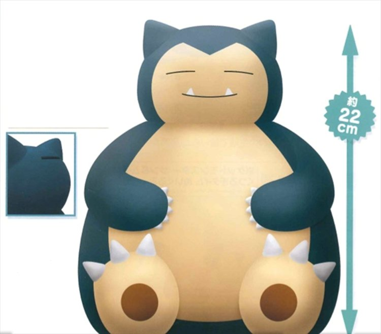 Pokemon Sun and Moon - Snorlax Coin Bank