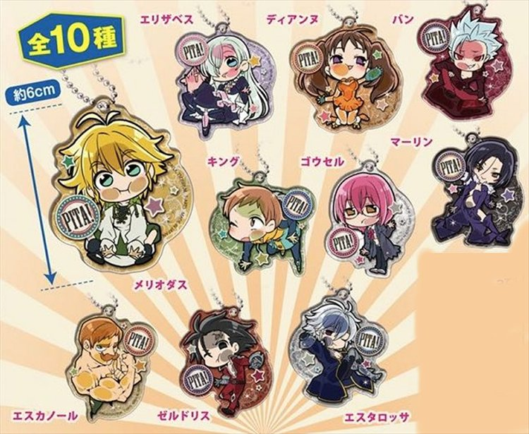 The Seven Deadly Sins- Trading Acrylic Straps- Single BLIND BOX