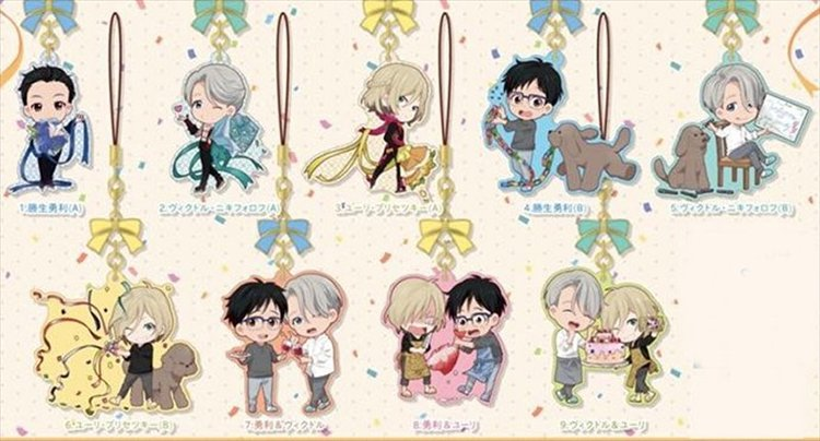 Yuri On Ice - Yura Yura charm Single BLIND BOX