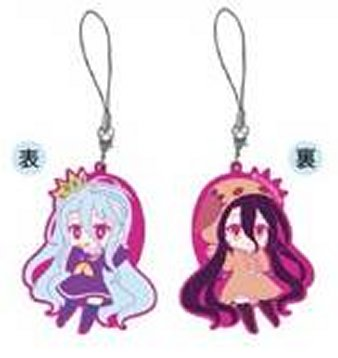 No Game No Life Zero - Shiro and Schwi Dola Keychain