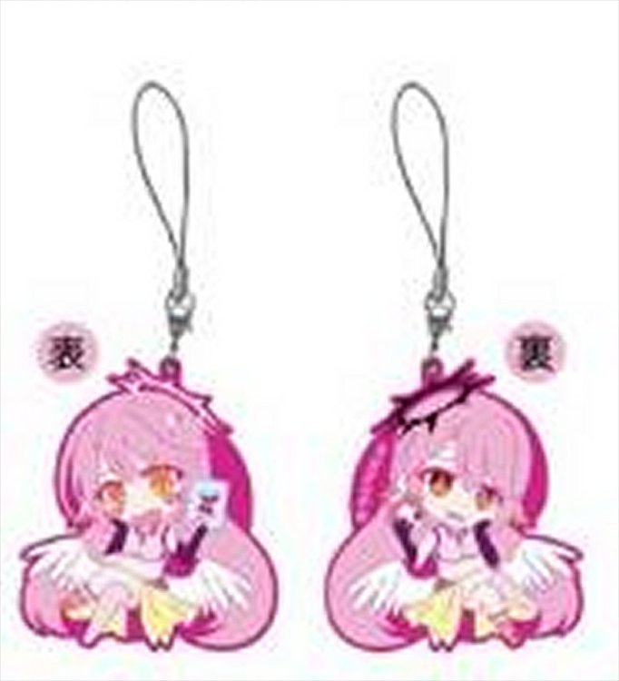 No Game No Life Zero - Jibril and Jibril Great War Ver. Keychain