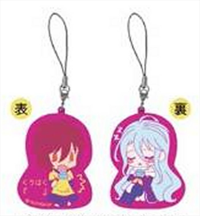 No Game No Life Zero - Shiro and Sora Keychain