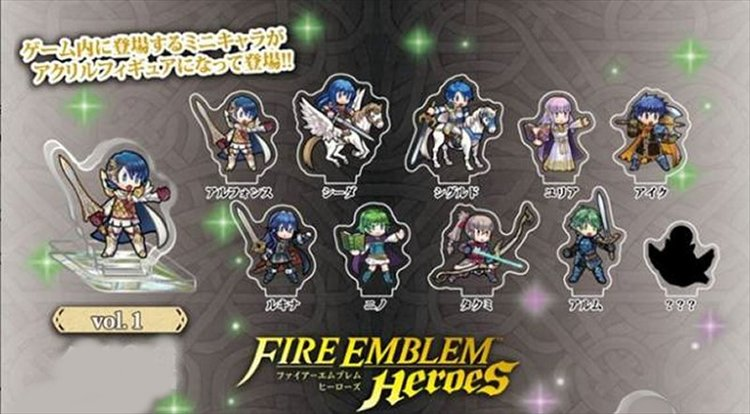 Fire Emblem Heroes - Mini Acrylic Figure collection Vol.1 Single BLIND BOX
