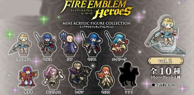 Fire Emblem Heroes - Mini Acrylic Figure collection Vol.2 Single BLIND BOX