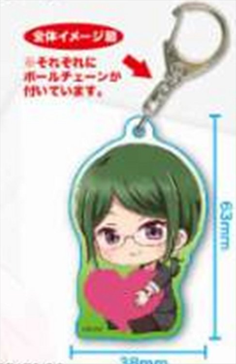 Love is Hard for Otaku - Hanako Koyanagi Acrylic Keychain