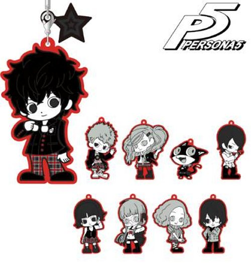 Persona 5 - Character Rubber Keychains Single BLIND BOX