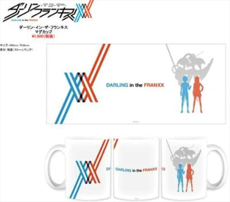 Darling in the Franxx - Hero and Zero Two Mug