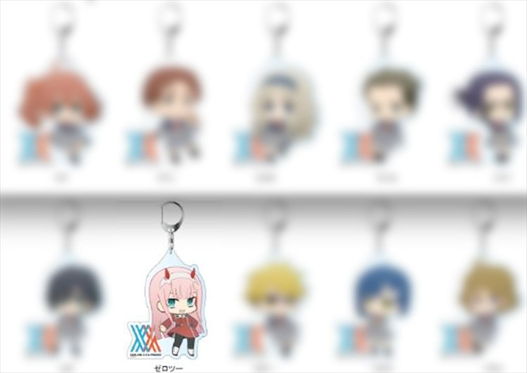Darling in the Franxx - Zero Two Deka Acrylic Keychain